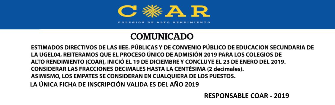 COAR-2019
