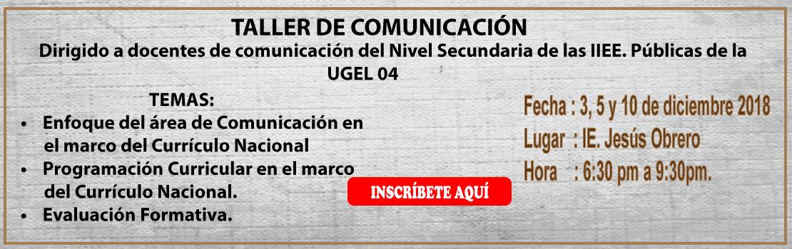 COMUNICACION-TALLER